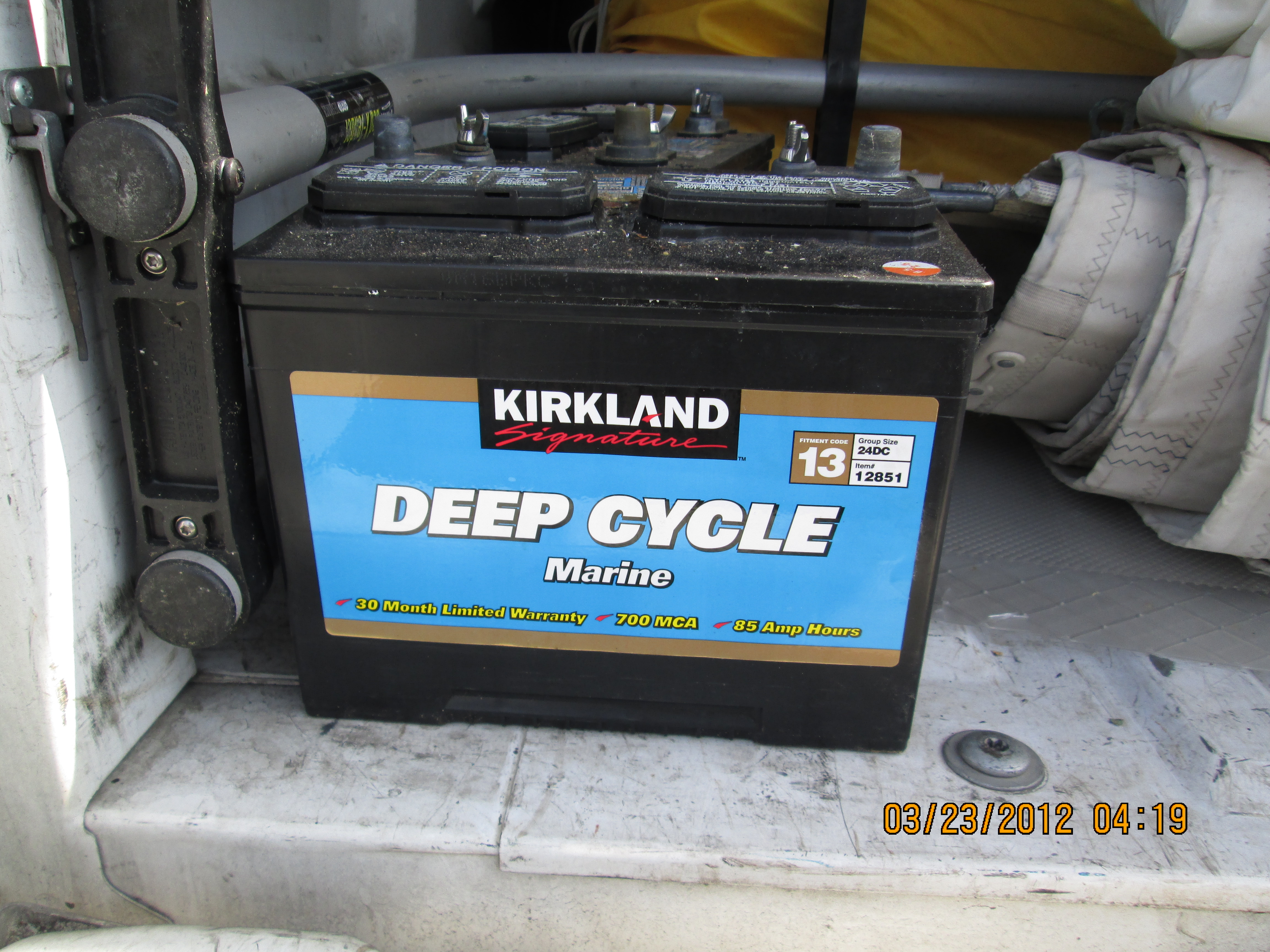 Costco Marine Battery >> Costco Our Budget Yacht
